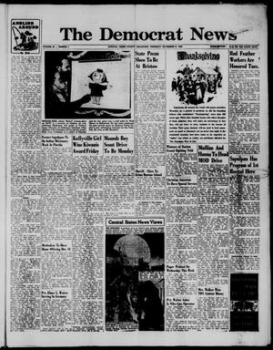 Primary view of The Democrat News (Sapulpa, Okla.), Vol. 49, No. 5, Ed. 1 Thursday, November 27, 1958