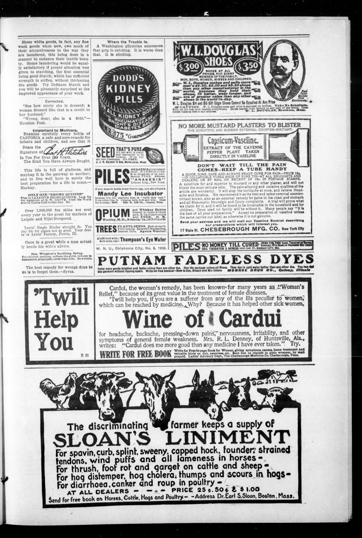 The Elgin News  (Elgin, Okla ), Vol  1, No  25, Ed  1 Thursday