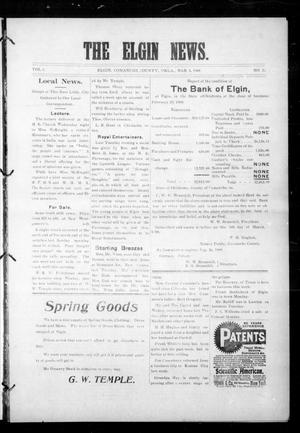Primary view of object titled 'The Elgin News. (Elgin, Okla.), Vol. 1, No. 26, Ed. 1 Thursday, March 5, 1908'.