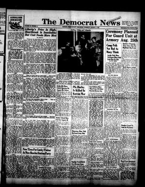 Primary view of object titled 'The Democrat News (Sapulpa, Okla.), Vol. 40, No. 41, Ed. 1 Thursday, August 17, 1950'.