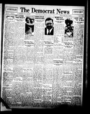 Primary view of object titled 'The Democrat News (Sapulpa, Okla.), Vol. 22, No. 40, Ed. 1 Thursday, August 17, 1933'.