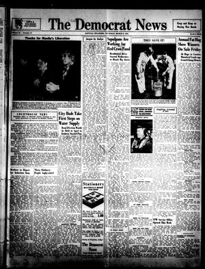 Primary view of object titled 'The Democrat News (Sapulpa, Okla.), Vol. 34, No. 18, Ed. 1 Thursday, March 8, 1945'.