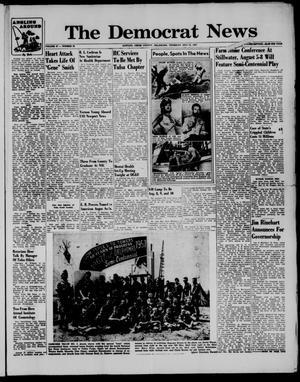 Primary view of The Democrat News (Sapulpa, Okla.), Vol. 47, No. 39, Ed. 1 Thursday, July 25, 1957