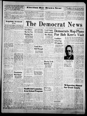 Primary view of The Democrat News (Sapulpa, Okla.), Vol. 38, No. 49, Ed. 1 Thursday, October 21, 1948