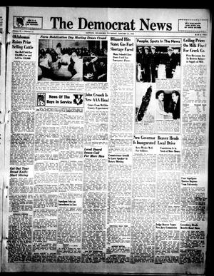 Primary view of The Democrat News (Sapulpa, Okla.), Vol. 32, No. 11, Ed. 1 Thursday, January 21, 1943