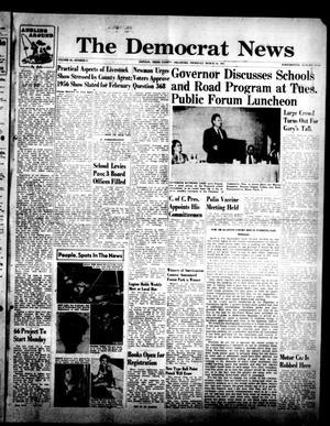 Primary view of The Democrat News (Sapulpa, Okla.), Vol. 45, No. 21, Ed. 1 Thursday, March 24, 1955