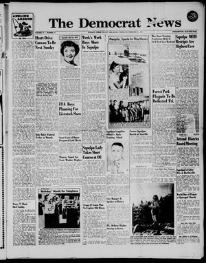 Primary view of The Democrat News (Sapulpa, Okla.), Vol. 47, No. 17, Ed. 1 Thursday, February 21, 1957