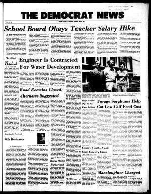 Primary view of The Democrat News (Sapulpa, Okla.), Vol. 64, No. 33, Ed. 1 Tuesday, June 12, 1973