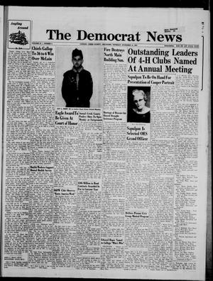 Primary view of The Democrat News (Sapulpa, Okla.), Vol. 55, No. 4, Ed. 1 Thursday, November 14, 1963