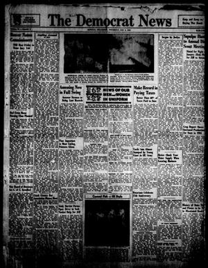 Primary view of object titled 'The Democrat News (Sapulpa, Okla.), Vol. 34, No. 9, Ed. 1 Thursday, January 4, 1945'.