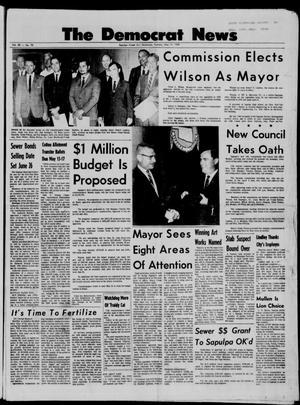Primary view of The Democrat News (Sapulpa, Okla.), Vol. 58, No. 81, Ed. 1 Tuesday, May 14, 1968