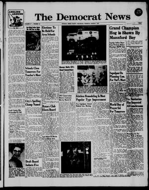 Primary view of The Democrat News (Sapulpa, Okla.), Vol. 47, No. 19, Ed. 1 Thursday, March 7, 1957