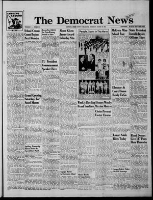 Primary view of The Democrat News (Sapulpa, Okla.), Vol. 51, No. 23, Ed. 1 Thursday, March 30, 1961