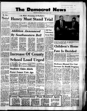 Primary view of The Democrat News (Sapulpa, Okla.), Vol. 61, No. 16, Ed. 1 Tuesday, February 17, 1970