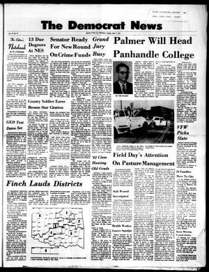 Primary view of The Democrat News (Sapulpa, Okla.), Vol. 62, No. 28, Ed. 1 Tuesday, May 11, 1971
