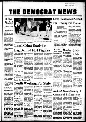 Primary view of The Democrat News (Sapulpa, Okla.), Vol. 65, No. 40, Ed. 1 Tuesday, August 6, 1974