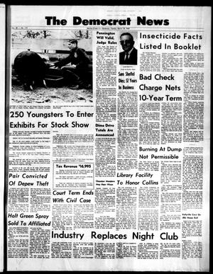 Primary view of object titled 'The Democrat News (Sapulpa, Okla.), Vol. 58, No. 119, Ed. 1 Tuesday, March 18, 1969'.