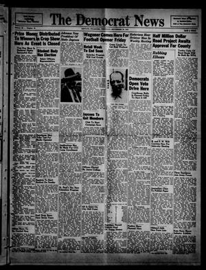 Primary view of object titled 'The Democrat News (Sapulpa, Okla.), Vol. 29, No. 45, Ed. 1 Thursday, September 19, 1940'.