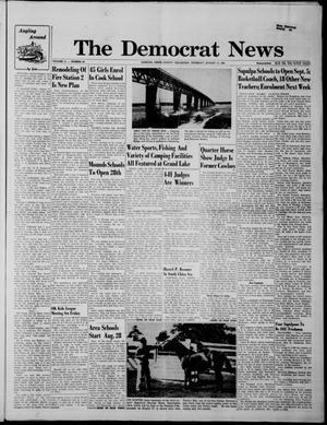 Primary view of The Democrat News (Sapulpa, Okla.), Vol. 51, No. 43, Ed. 1 Thursday, August 17, 1961