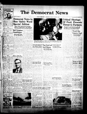 Primary view of The Democrat News (Sapulpa, Okla.), Vol. 42, No. 41, Ed. 1 Thursday, August 14, 1952