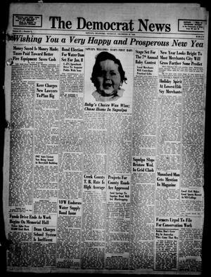 Primary view of The Democrat News (Sapulpa, Okla.), Vol. 37, No. 6, Ed. 1 Thursday, December 26, 1946
