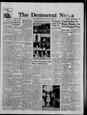 Primary view of object titled 'The Democrat News (Sapulpa, Okla.), Vol. 55, No. 44, Ed. 1 Thursday, August 20, 1964'.