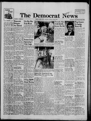 Primary view of The Democrat News (Sapulpa, Okla.), Vol. 55, No. 36, Ed. 1 Thursday, June 25, 1964