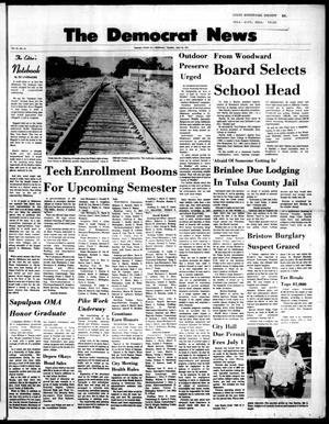 Primary view of The Democrat News (Sapulpa, Okla.), Vol. 62, No. 34, Ed. 1 Tuesday, June 22, 1971