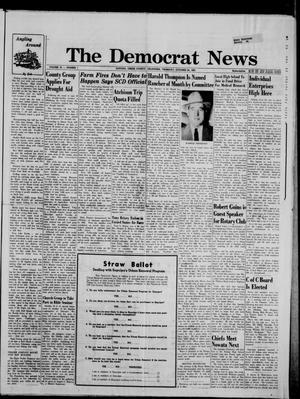 Primary view of The Democrat News (Sapulpa, Okla.), Vol. 55, No. 1, Ed. 1 Thursday, October 24, 1963