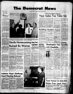Primary view of The Democrat News (Sapulpa, Okla.), Vol. 61, No. 3, Ed. 1 Tuesday, November 18, 1969