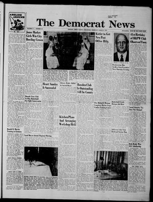 Primary view of The Democrat News (Sapulpa, Okla.), Vol. 51, No. 19, Ed. 1 Thursday, March 2, 1961