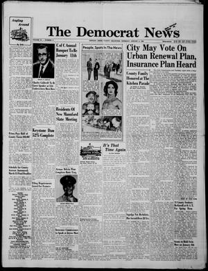 Primary view of The Democrat News (Sapulpa, Okla.), Vol. 52, No. 11, Ed. 1 Thursday, January 4, 1962
