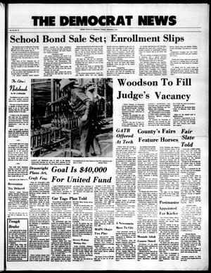 Primary view of The Democrat News (Sapulpa, Okla.), Vol. 62, No. 45, Ed. 1 Tuesday, September 7, 1971