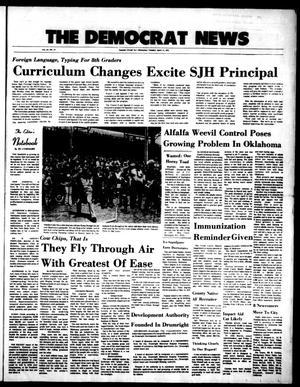 Primary view of The Democrat News (Sapulpa, Okla.), Vol. 63, No. 24, Ed. 1 Tuesday, April 11, 1972