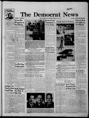 Primary view of The Democrat News (Sapulpa, Okla.), Vol. 51, No. 30, Ed. 1 Thursday, May 18, 1961