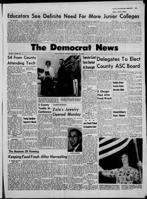 Primary view of The Democrat News (Sapulpa, Okla.), Vol. 56, No. 53, Ed. 1 Tuesday, October 19, 1965