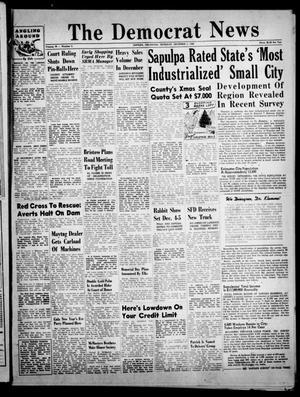 Primary view of The Democrat News (Sapulpa, Okla.), Vol. 39, No. 4, Ed. 1 Thursday, December 2, 1948