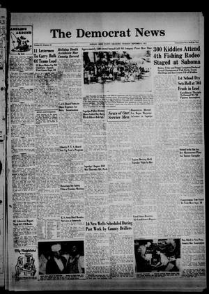 Primary view of The Democrat News (Sapulpa, Okla.), Vol. 42, No. 44, Ed. 2 Thursday, September 4, 1952