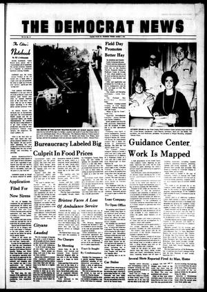 Primary view of The Democrat News (Sapulpa, Okla.), Vol. 65, No. 48, Ed. 1 Tuesday, October 1, 1974