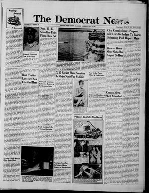 Primary view of object titled 'The Democrat News (Sapulpa, Okla.), Vol. 52, No. 39, Ed. 1 Thursday, July 19, 1962'.