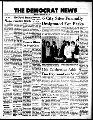 Primary view of The Democrat News (Sapulpa, Okla.), Vol. 64, No. 22, Ed. 1 Tuesday, March 27, 1973