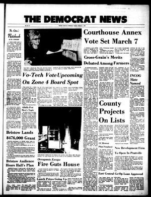 Primary view of The Democrat News (Sapulpa, Okla.), Vol. 63, No. 14, Ed. 1 Tuesday, February 1, 1972