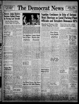 Primary view of object titled 'The Democrat News (Sapulpa, Okla.), Vol. 36, No. 45, Ed. 1 Thursday, September 19, 1946'.