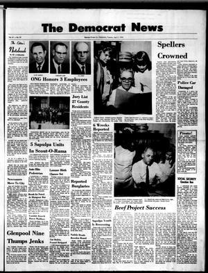 Primary view of The Democrat News (Sapulpa, Okla.), Vol. 61, No. 23, Ed. 1 Tuesday, April 7, 1970