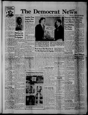 Primary view of object titled 'The Democrat News (Sapulpa, Okla.), Vol. 50, No. 17, Ed. 1 Thursday, February 18, 1960'.