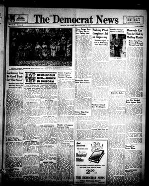Primary view of object titled 'The Democrat News (Sapulpa, Okla.), Vol. 34, No. 6, Ed. 1 Thursday, December 14, 1944'.