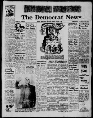 Primary view of The Democrat News (Sapulpa, Okla.), Vol. 49, No. 10, Ed. 1 Thursday, January 1, 1959