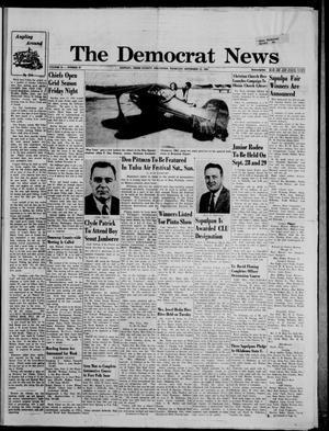 Primary view of The Democrat News (Sapulpa, Okla.), Vol. 54, No. 47, Ed. 1 Thursday, September 12, 1963