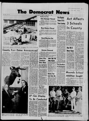 Primary view of The Democrat News (Sapulpa, Okla.), Vol. 58, No. 80, Ed. 1 Tuesday, May 7, 1968
