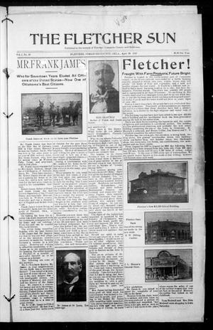 Primary view of object titled 'The Fletcher Sun (Fletcher, Okla.), Vol. 1, No. 10, Ed. 1 Friday, April 29, 1910'.